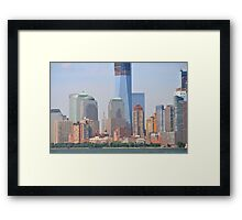 34th From Downtown Framed Print