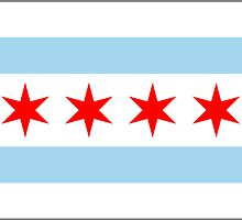 Chicago Flag by csmarshall