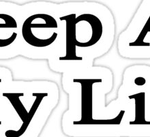 Sheep Are My Life  Sticker