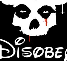 Disobey Sitcker Sticker