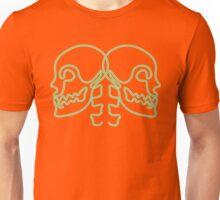 dual skulls Unisex T-Shirt