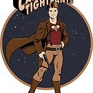 Captain Tightpants - STICKER by Mandrie