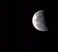 Partial Lunar Eclipse III by geophotographic