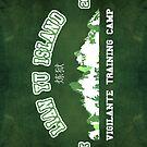 Vigilante Training Camp (Sticker) by Nana Leonti