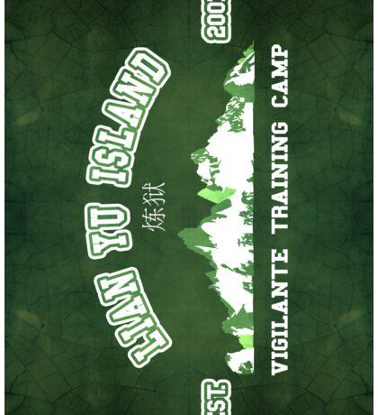 Vigilante Training Camp (Sticker) Sticker