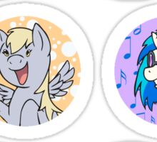 Sticker Badges - My Little Pony Secondaries! Sticker
