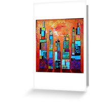 Urban Landscape Greeting Card