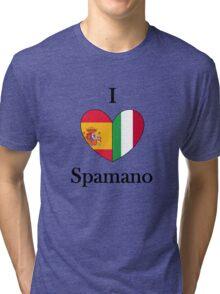 I heart Spamano Tri-blend T-Shirt