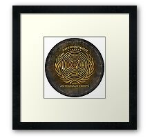 International Astronaut Corps 2 Framed Print