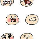 Finn's Faces by TipsyKipsy