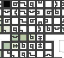 Fez Tiles STICKER VERSION Sticker