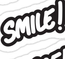 Hello! Smile! Peace! Sticker