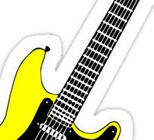 Strat yellow Sticker