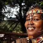 Samburu girl (Lenaiyasa) by Karue