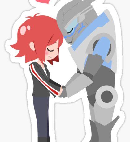 Mass Effect - Shakarian [Shirts, Prints, & Sticker] Sticker