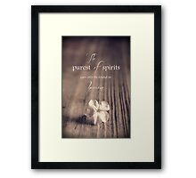The Purest Of Spirits Framed Print