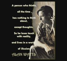 Alan Watts - On Illusion by (Particle) Quark