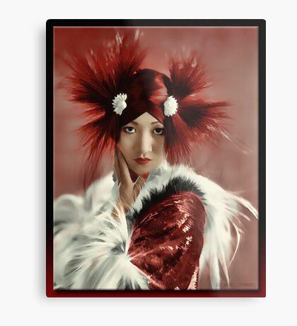 Anna May Wong 1905 - 1961 Metal Print