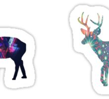 Deer 4 Sticker
