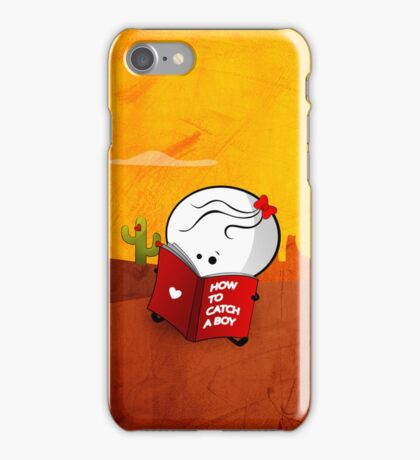 How to catch a boy iPhone Case/Skin