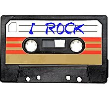 I Rock and Roll MUSIC Photographic Print