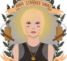 Kara Thrace by Spencer Salberg