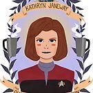 Kathryn Janeway by Spencer Salberg