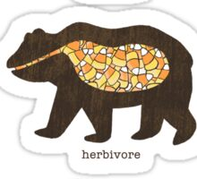 The Eating Habits of Bears Sticker