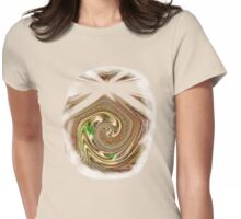 BEIGE ZAZZLE 2 TEE/BABY GROW Womens Fitted T-Shirt