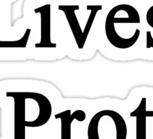 My Son Lives To Protect Cows  Sticker