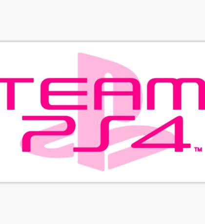 Team PS4 (Pink/2) Sticker