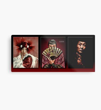 The Anna May Wong Series Metal Print