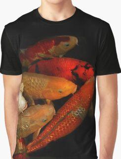 Koi Fish Group Graphic T-Shirt