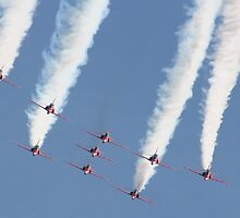 Red Arrows by Darrenadie