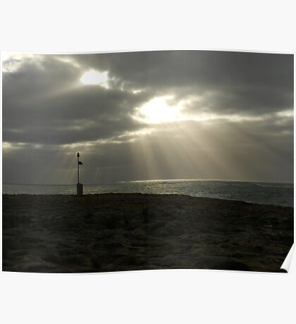 Southern Ocean Sky Poster