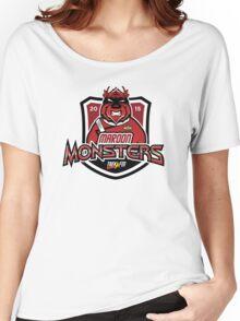 Trek.fm: Team Maroon Monsters Women's Relaxed Fit T-Shirt