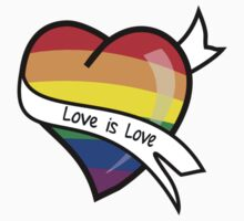 Love is Love by Shirts4Equality