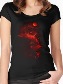 Red Dream Women's Fitted Scoop T-Shirt