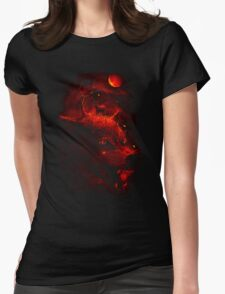 Red Dream Womens Fitted T-Shirt