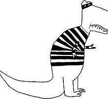 T-Rex Burglar by Roberto A Camacho