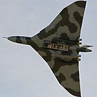 RAF Vulcan. by Darrenadie