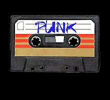 PUNK Music band logo in Cassette Tape by RestlessSoul