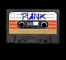 PUNK Music band logo in Cassette Tape by RestlessSoul