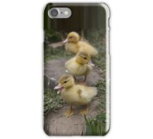 Three Little Ducks iPhone Case/Skin