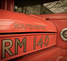 Routemaster bus by Trevor Middleton