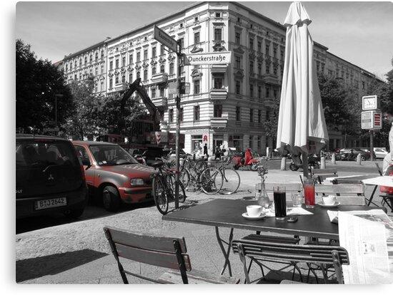Cafe, Friedrichshain, Berlin, Germany by thewinternet