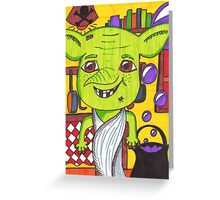 Cheeky House Elf Greeting Card