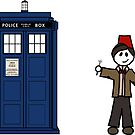 Dr Who (11) car sticker family (also on shirts) by Paige Thulin