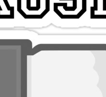 Crosby Dislike Gray Scale Sticker