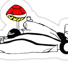 Indy Kart Sticker